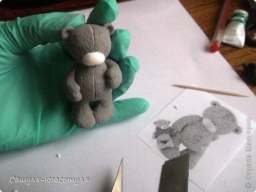 Как сделать мишку тедди