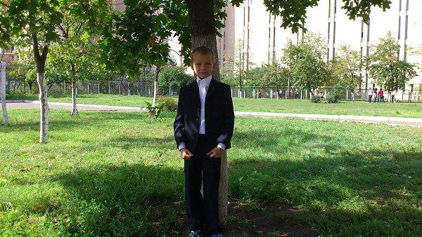 Школьное фото: Женя, 14 лет, Вышгород