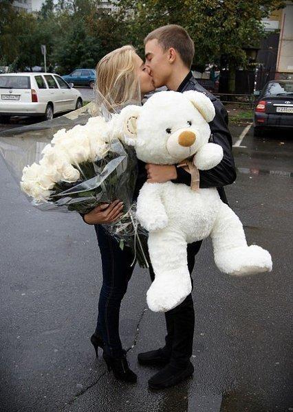 Фото влюбленной пары: Настя Ильина, 23 года, Москва