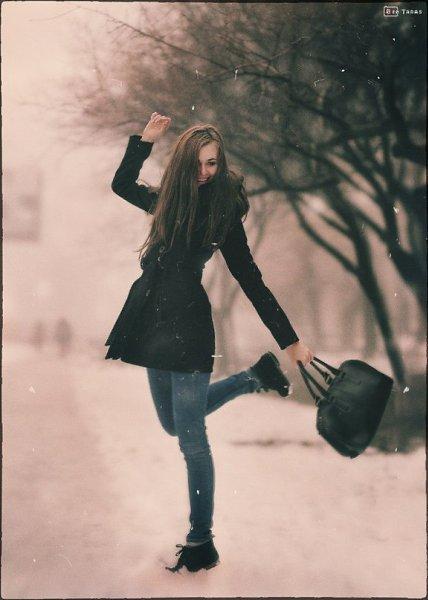 Зимнее фото: ;) - Jery, 25 лет, Лодзь