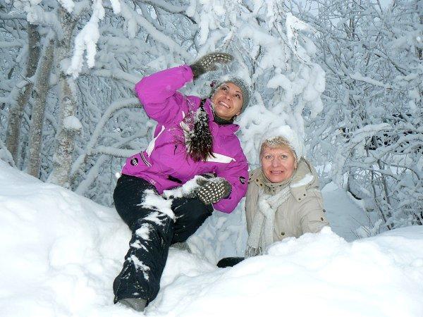Фото гуляний: снежный дождик - марина, Мурманск