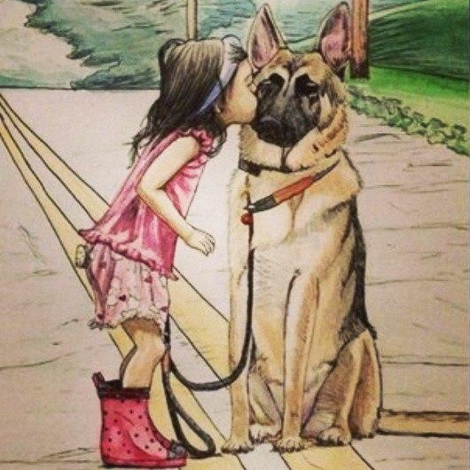 Картинки прикольные, прикольные картинки прогулка с собакой