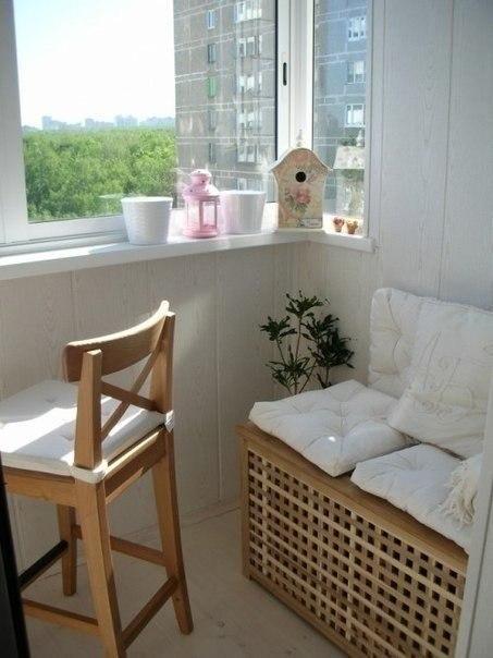 Подборка прекрасных идей для небольших балконов
