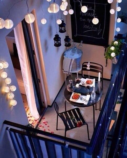 Подборка прекрасных идей для небольших балконов - 3