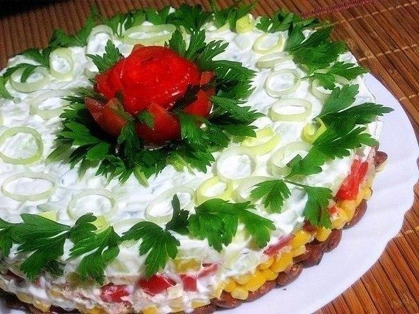 Приготовить красивый салат