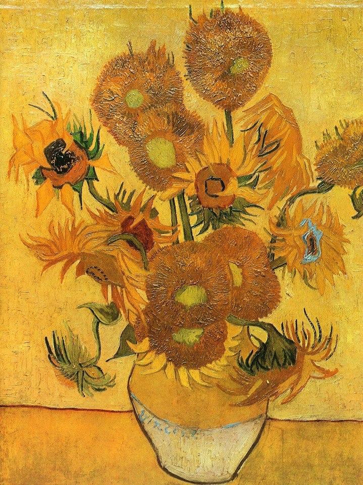 Цветочные натюрморты кисти Винсента Ван Гога - 5