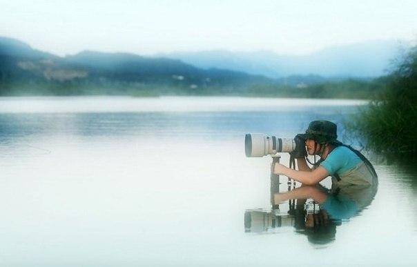 Суровые будни фотографа.Разглядывая превосходные фотографии в журналах и интернете, задумайтесь, ...
