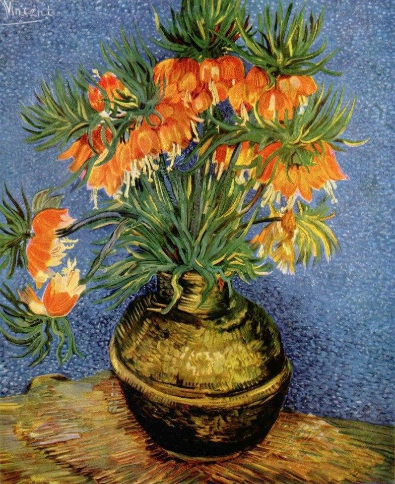 Цветочные натюрморты кисти Винсента Ван Гога - 3