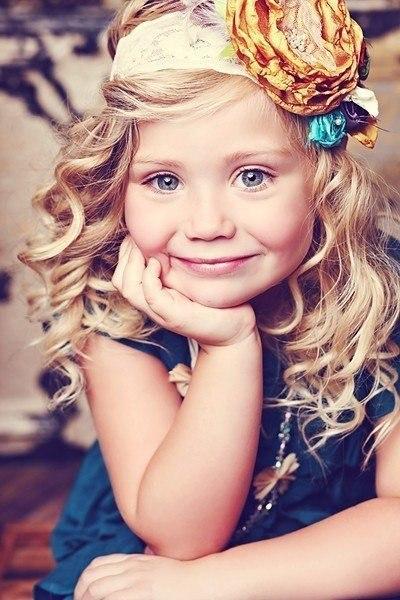 Модные прически для маленьких принцесс ?