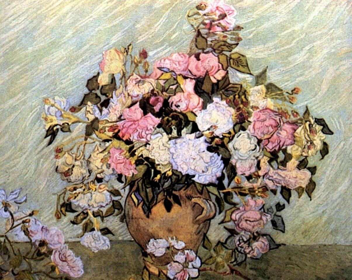 Цветочные натюрморты кисти Винсента Ван Гога - 4