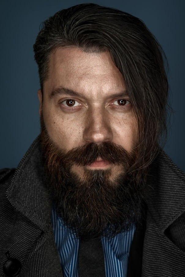 Портеры бородатых мужчин от фотографа Zia Vey - 2