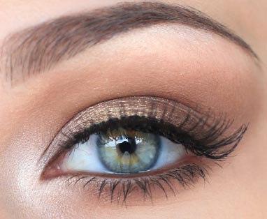 Макияж в стиле Victoria's Secret.Макияж Victoria's Secret в коричневых оттенках, с высветленными ... - 6
