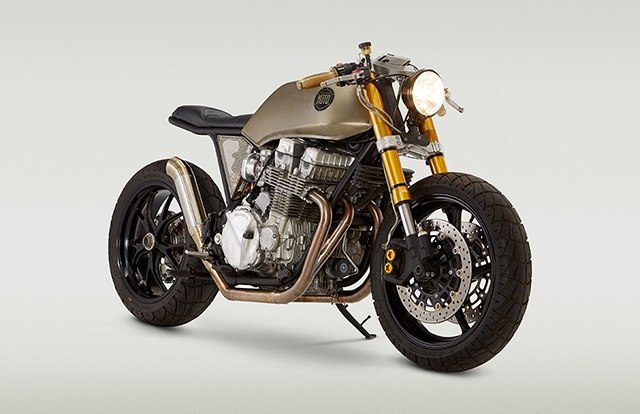 Кафе рейсер Honda CB750 Mr Hyde.Кафе рейсер Honda CB750 «Mr Hyde» построил Джон Риланд (John Ryland) ...