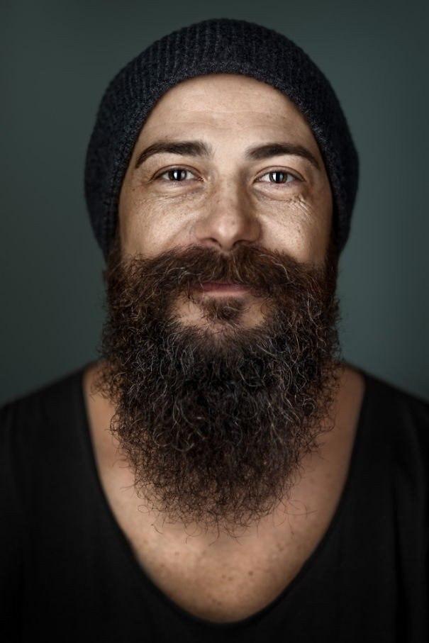 Портеры бородатых мужчин от фотографа Zia Vey - 3