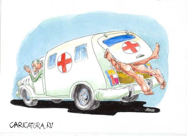 Разные картинки прикольные про скорую помощь