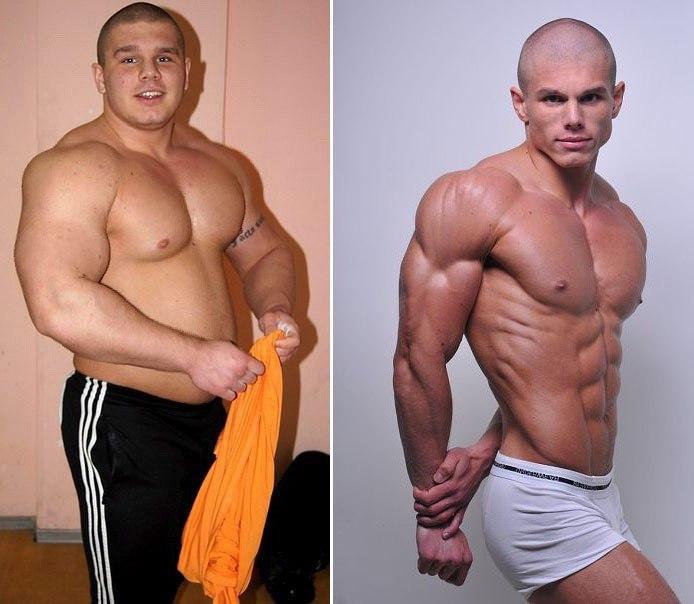 фото до и после курса гормона роста