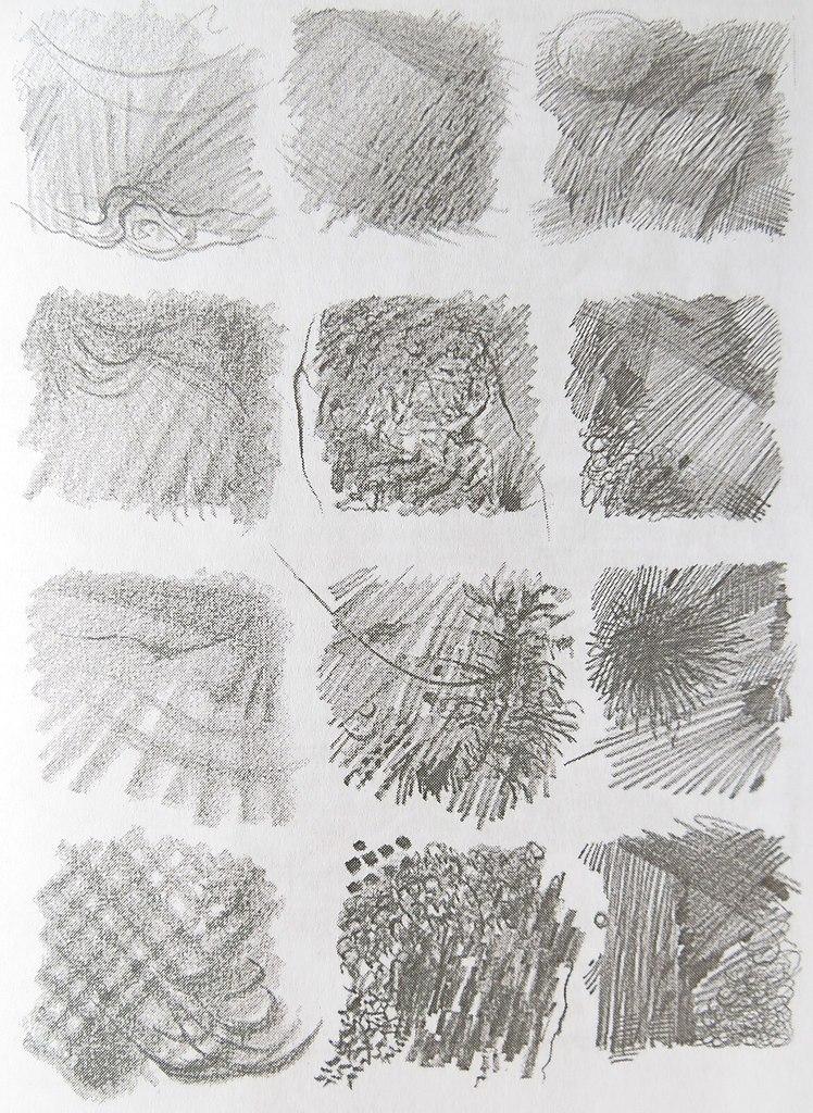 рисунки штрихами для начинающих