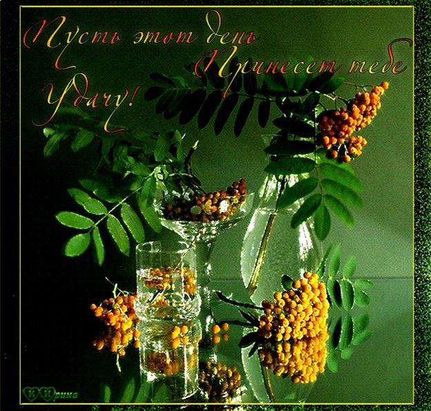 Анимация желаю удачи и хорошего дня, днем всех влюбленных