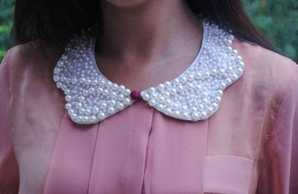 Ожерелье в виде воротничка - 6