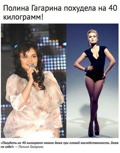 Полина Гагарина Похудела На 40 Килограмм. Как похудела Полина Гагарина на -40 кг?