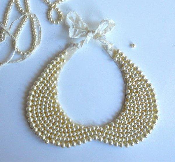 Ожерелье в виде воротничка - 3
