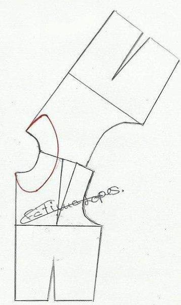 Ожерелье в виде воротничка - 2