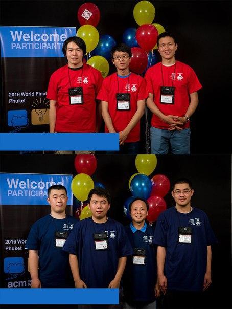 Команда из Петербурга недавно победила на олимпиаде по программированию. Команды из Китая и США ...