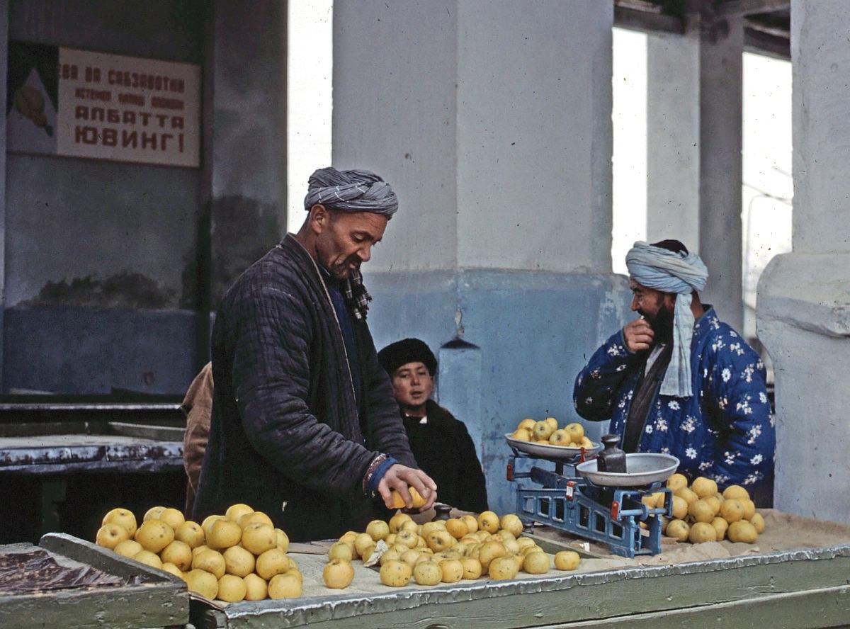 старые фото узбекские базары этой статье