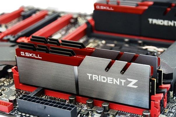 G.Skill представила память DDR4 Trident Z с тактовой частотой 4266 MГц