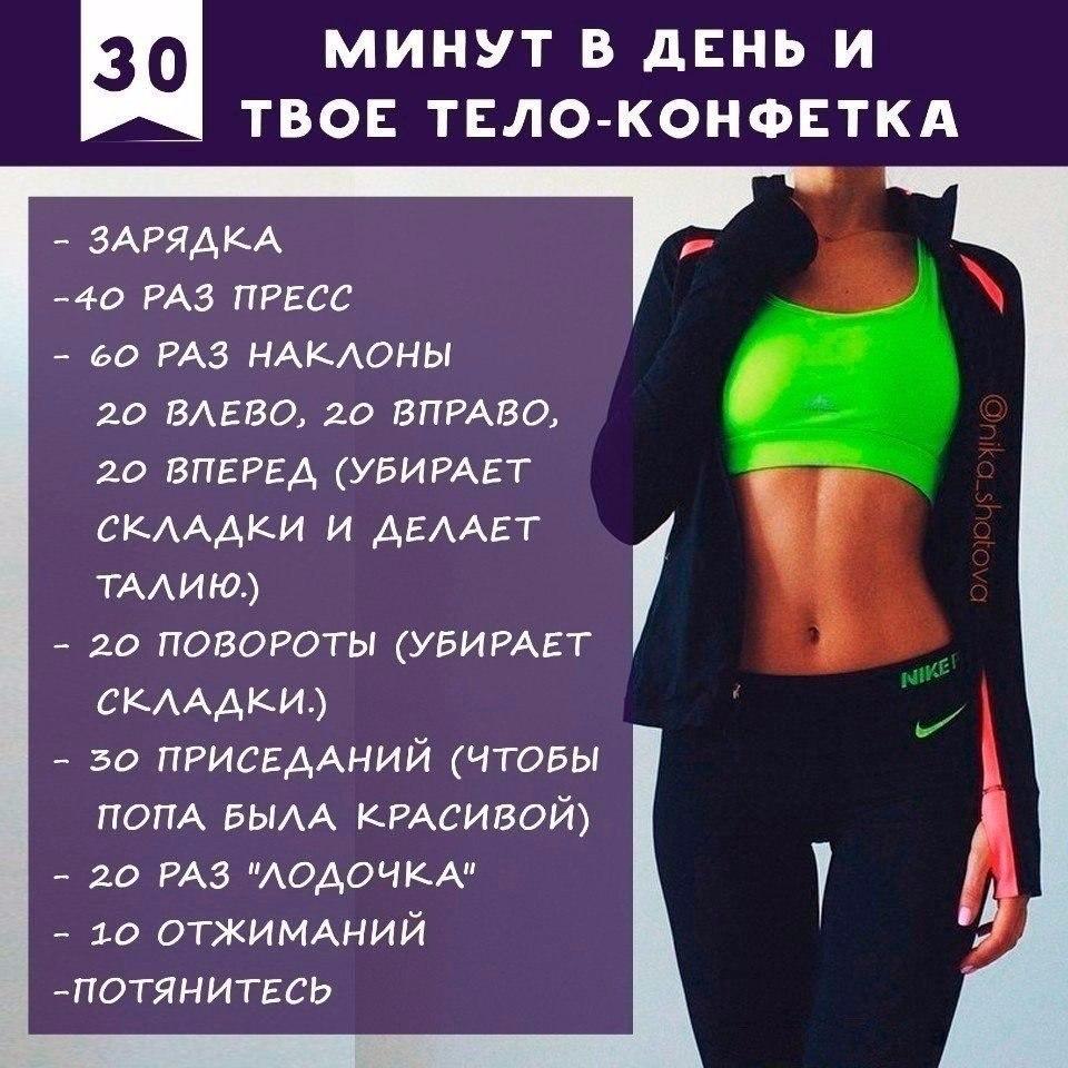 Программа Эффективного Похудения. План питания и тренировок для похудения за месяц