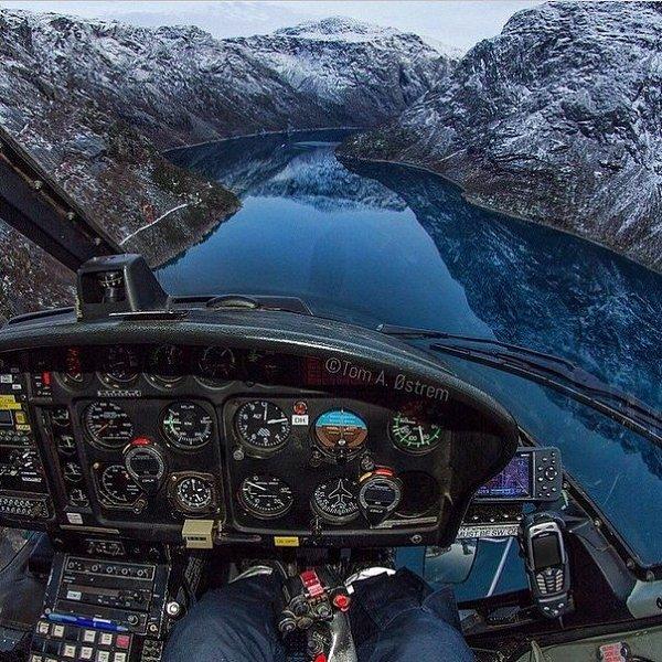 эффективность вид из кабины пилота картинки самом