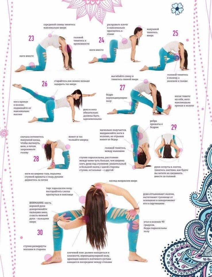 Комплекс йоги при похудении