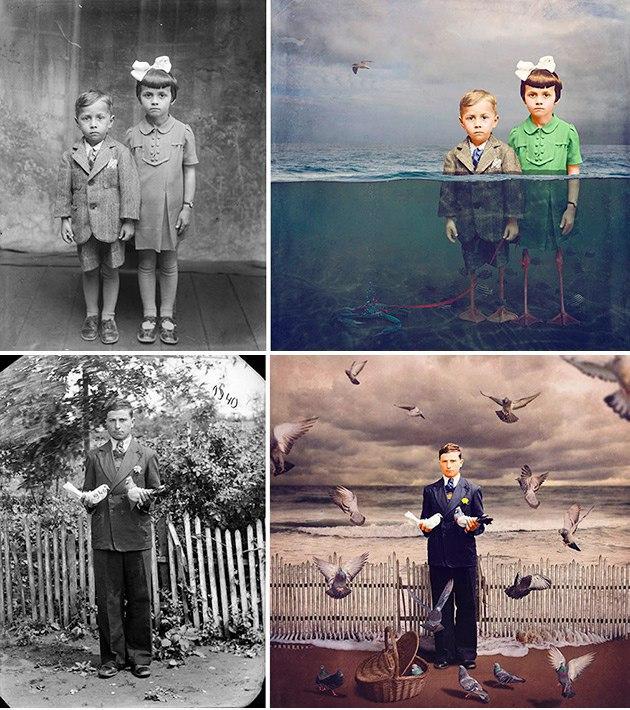 перевод старых фотографий в цифровые картинка рабочий