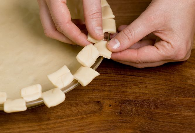 6 способов украшения краёв пирога. И ваши гости будут в восторге - 5