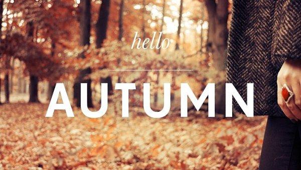 Картинки осень с надписями на английском, открытка
