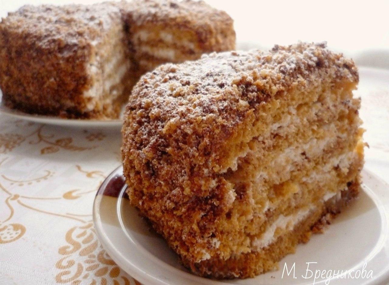 Торт в мультиварке простой рецепт с фото