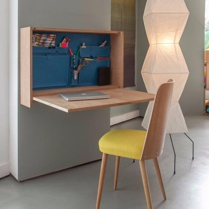 Складные бюро для маленьких комнат: 5 самых лаконичных и стильных моделей - 5