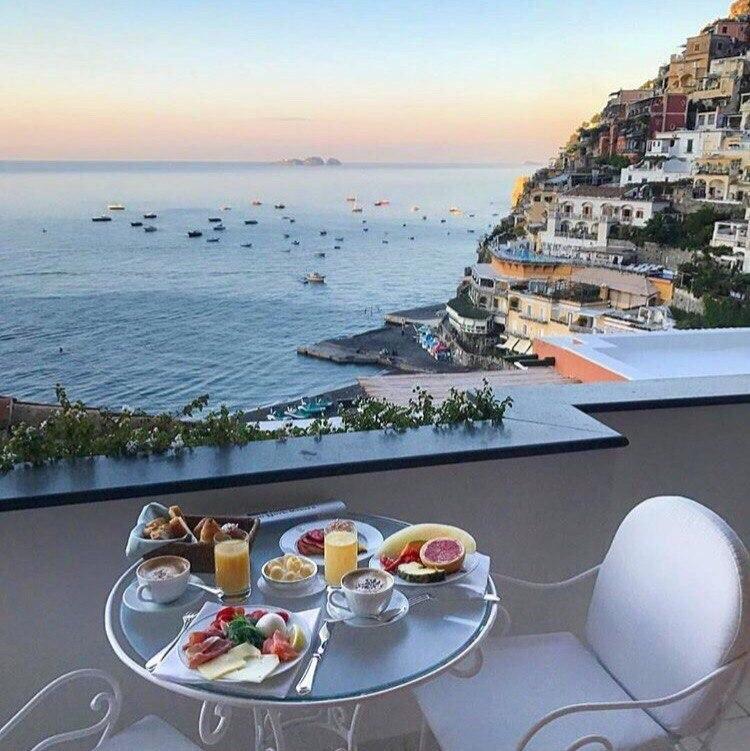 Итальянская картинка доброе утро