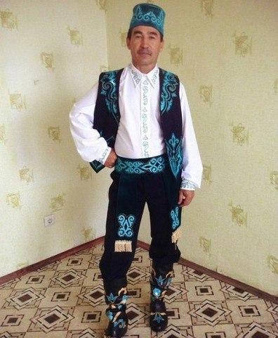 фото национального татарского мужского костюма фигурка