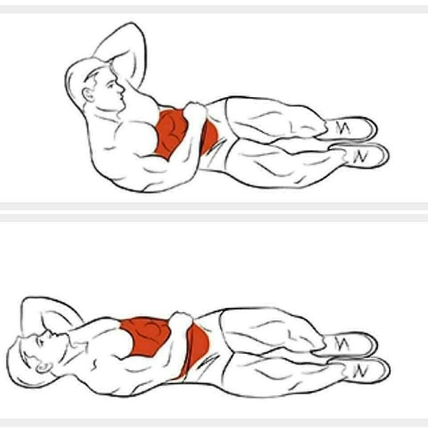 Картинки упражнения для нижнего пресса