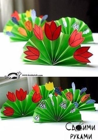 Цветы из бумаги - 4