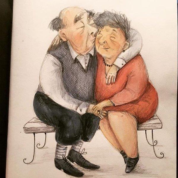 Смешных картинках, картинки про дедушку смешные