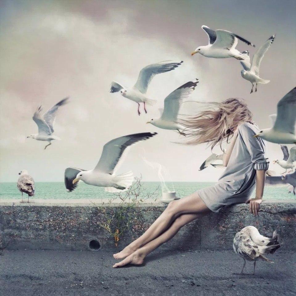 уделяет картинки а мне бы крылья и к тебе лететь тогда