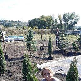 Для тех, кто думает, что это огород: это НЕ огород, а организация Аллеи Славы имени моего дедушки в нашей деревне и посадка Туи!!! В частности и я посадила одну из!!!