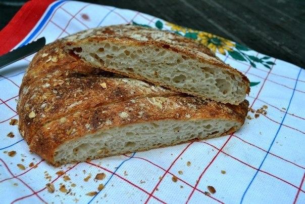 Рецепты от наших участников.Пористый мягкий хлеб, с дико хрустящей корочкой, без замеса теста.Автор: ...