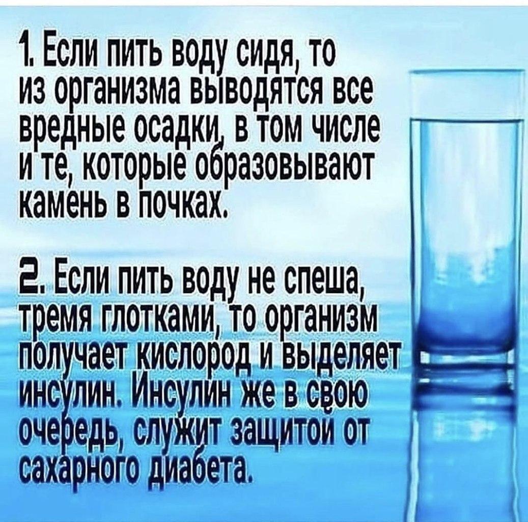 Знали как правильно пить воду ? Кулинарное искусство