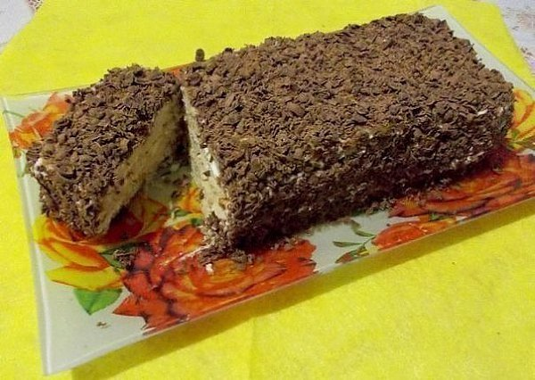 Творожный торт с печеньем. . БЕЗ ВЫПЕКАНИЯ из серии гости на пороге или для ленивых хозяек, на этот ...