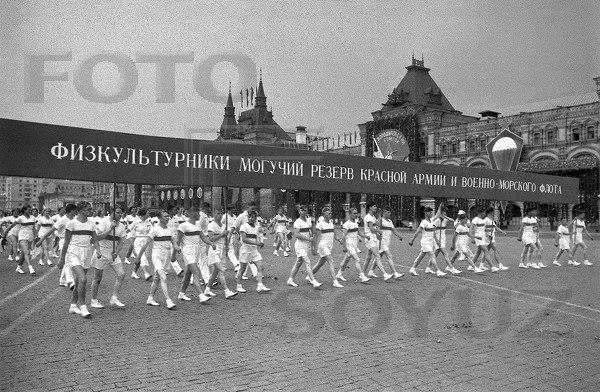 Футбол на Красной Площади. 6 июля 1936 года на главной площади страны состоялся небывалый ... - 9