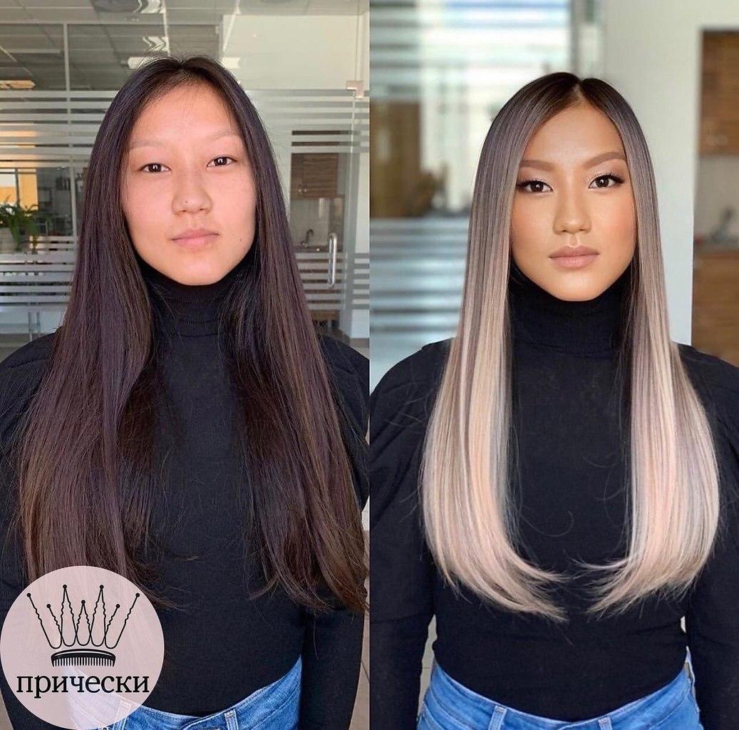 Как вам такая трансформация? Какой образ понравился больше 1,2,3? пчпчпчпч